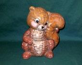 Soft Sculpture Squirrel - Animated
