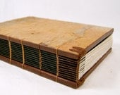 blank handmade journal book brown birch tree bark wood