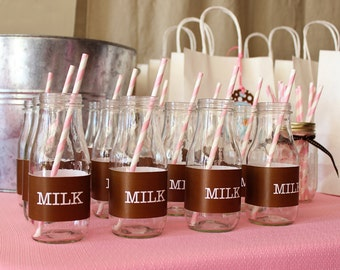 Milk and Cookies Birthday Party - Full Printable Collection by 505 Design Inc