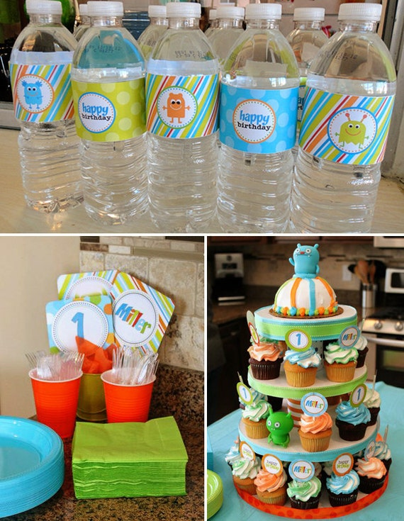 Decorating Ideas > DIY Printable Silly Little Monster Birthday Party By  ~ 150902_Birthday Party Ideas Diy