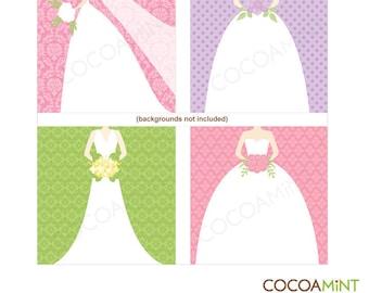 Chic Brides Clip Art