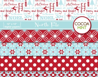 North Pole Digital Papers