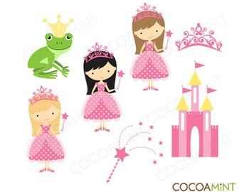 Pink Princess Clip Art