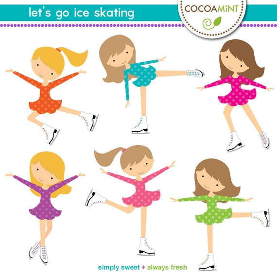 Let s Go Ice Skating Clip ArtIce Skating Clipart