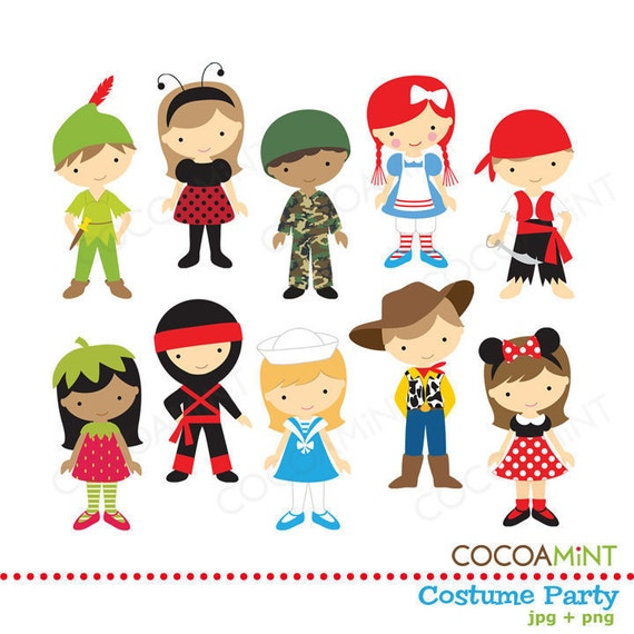 Clipart Costume Party images
