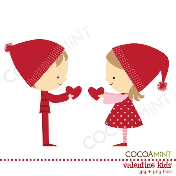 valentine kids clip art - Valentine Kids