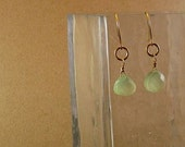 Gorgeous Gold and Green Earrings