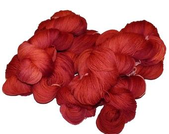 Organic Merino Sock / 4ply yarn Tarte au Framboise