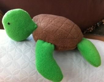 Sea Turtle- Fleece Plush
