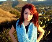Knitted Infinity Scarf - Eternity Scarf - Loop Scarf - Neck Warmer - Fashion Accessories - Vegan Friendly