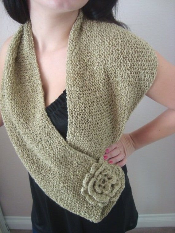 Elegant Hand Knitted Infinity Scarf - Seamless - Soft - Lightweight - Black Friday Etsy - Cyber Monday Etsy