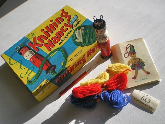 Knitting Nancy Spotlight : Knitting nancy kit spears game s by vintagedottirose