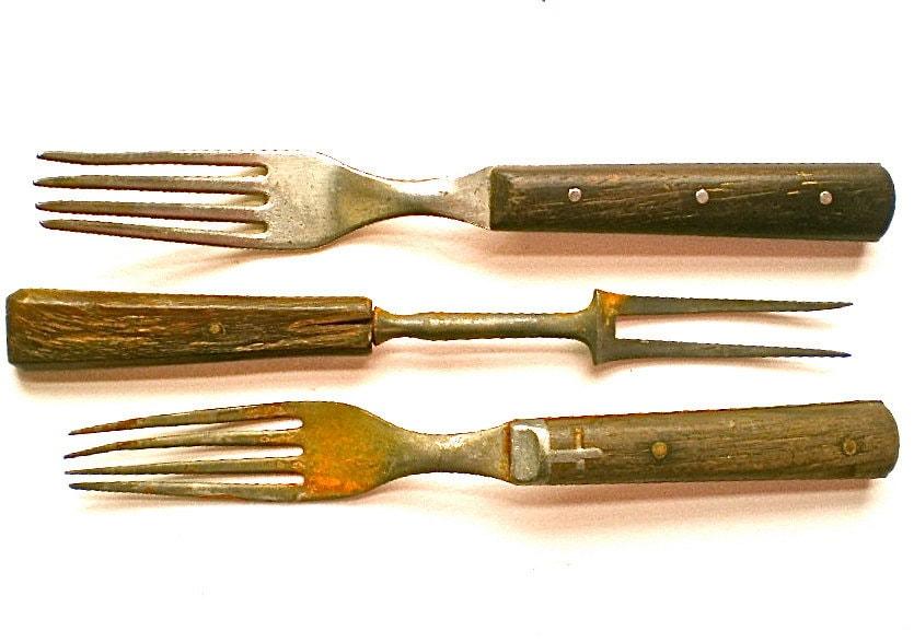 Forks Antique Forks Vintage Forks Flatware By Vintagedottirose