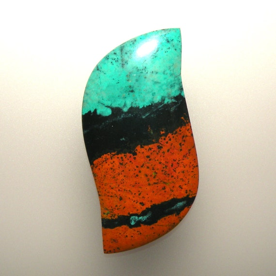 Sonoran Sunrise 100% Natural Hand Cut Cabochon from Mexico, free shipping