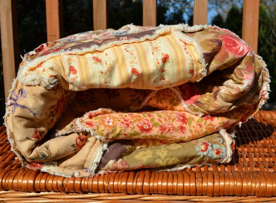 French Inspired Rag Quilt