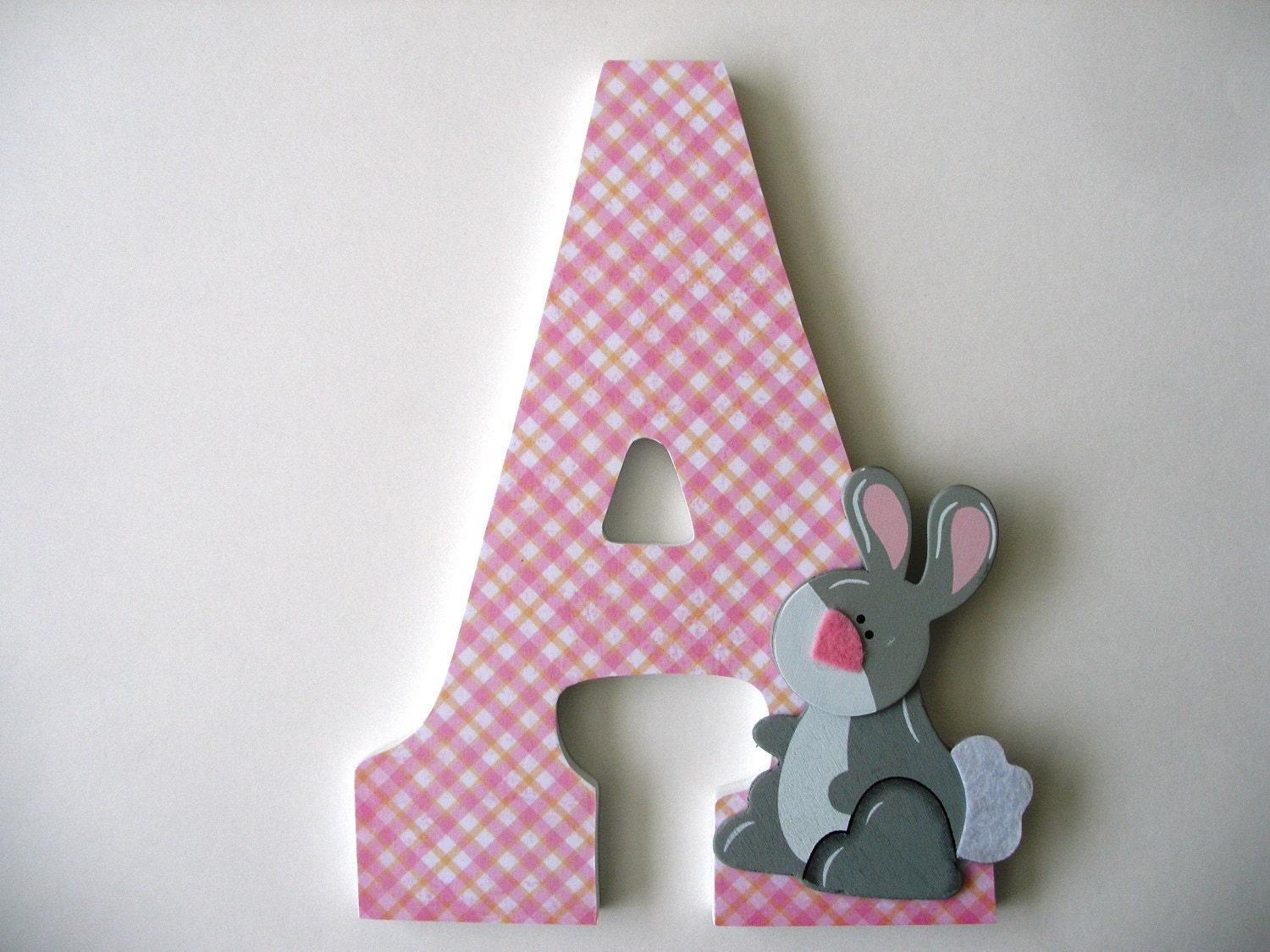 1 Decorated 9 Wooden Letters Personalized Nursery Name