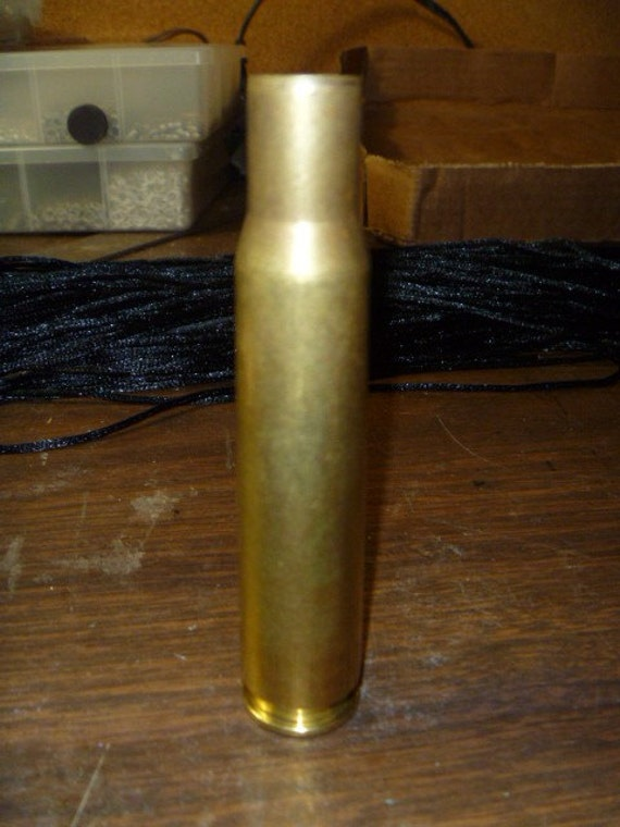 50 caliber brass rifle shell bullet casing for craft projects, steampunk, industrial and jewelry making