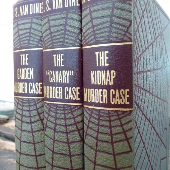 Vintage Detective Fiction by S.S. Van Kine