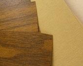 vintage wood grain paper, large sheets, SALE