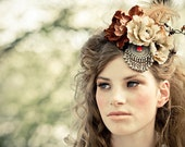Autumn headpiece - headdress headpiece by Moth and BayLeaf
