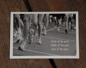 Card For Runners, In The Pack, PEOP061