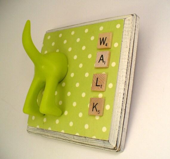 Polka Dot - Dog Tail Leash Hook - Personalize It