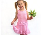 Top and skirt for girl 3-5 year