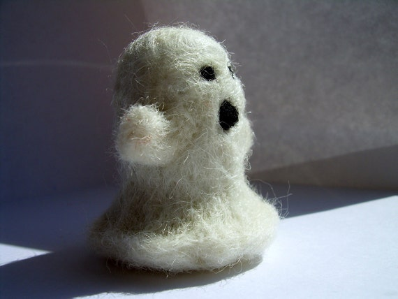 Needle Felted Ghost
