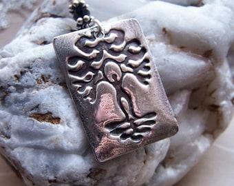 Goddess Necklace, Celtic Tree Goddess Pendant, Goddess Jewelry