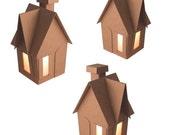 DIY Kit-Iddie Biddie Chipboard Gingerbread Houses (3)
