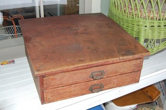 Antique Podium/Lecture Desk