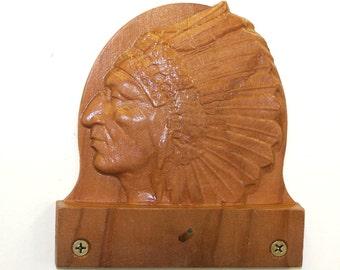 Indian Chief. calendar holder