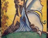 "Print of Original painting""Fantasia"""