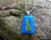 Fern Blue Necklace