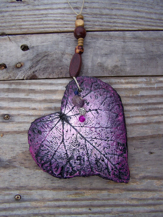 Cast Stone Purple Heart