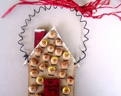 Personalized House Christmas Ornament - Up to 20 faces