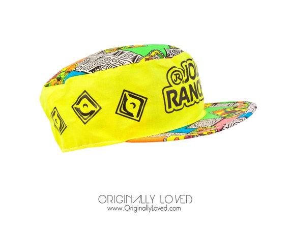 Vintage 80s Colorful Neon Jolly Rancher Cap