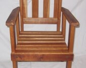 Child's Wooden Arm Chair