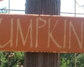 Fall Decor-Rustic Pumpkins Sign