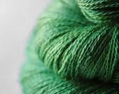 Soylent Green - Baby Alpaca / Silk yarn lace weight