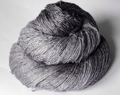 Dark dolphin on the beach - Silk/BabyCamel/Merino Yarn Lace weight