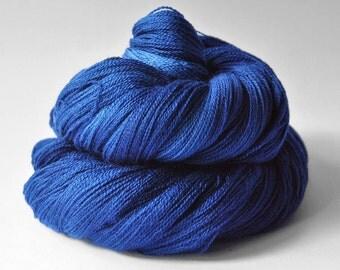 Ground sapphire - Merino/Silk/Cashmere Fine Lace Yarn