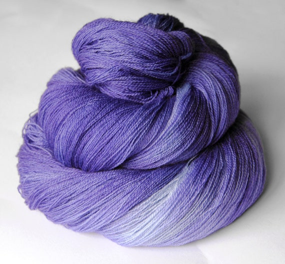 Withering bluebell - Merino Yarn Fine Lace weight