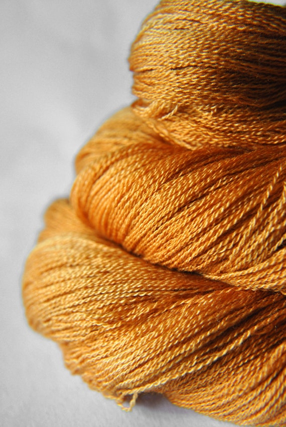 Passing leaf storm - Merino/Silk/Cashmere Yarn Fine Lace weight