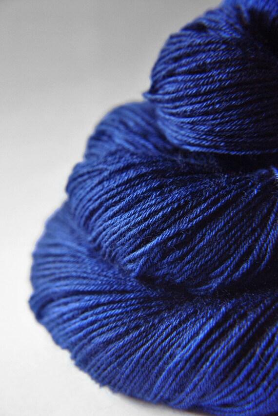 Ground sapphire - BFL Sock Yarn superwash