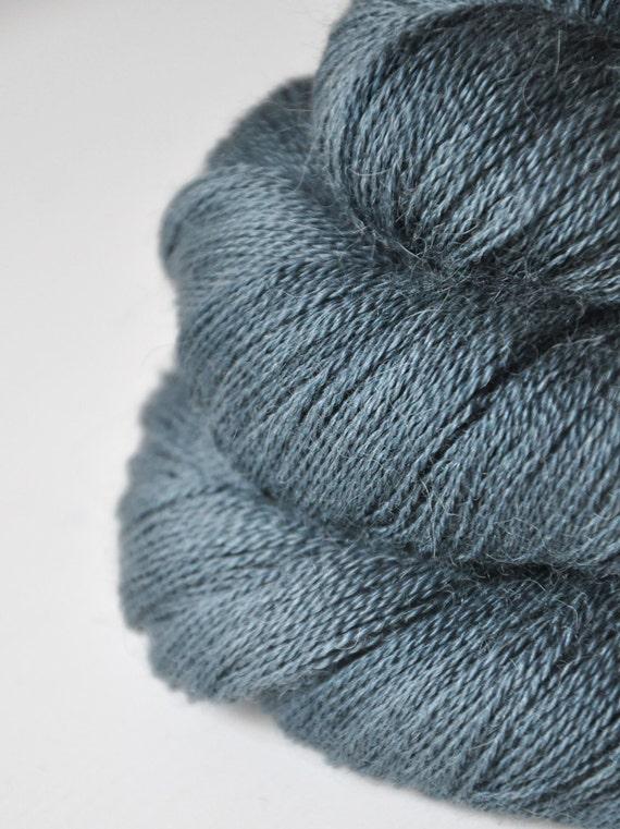 Tristesse OOAK - Baby Alpaca / Silk yarn lace weight