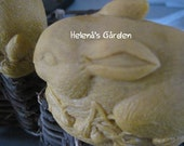 Organic 3D-Bunny Butter Soaps- with Natural Herbal colors