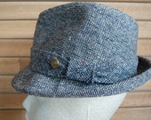 Vintage Stetson Tweed Fedora