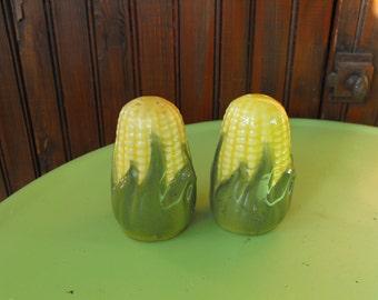 Vintage Shawnee Corn Salt and Pepper Shaker Set