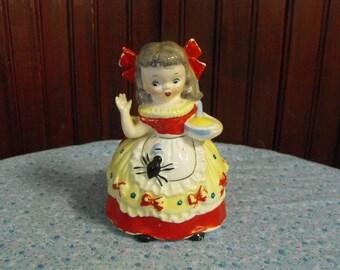 Vintage Napco Little Miss Muffet 1956 Planter